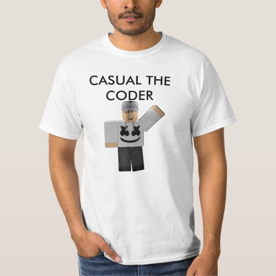 Casual The Coder Mens T-Shirt