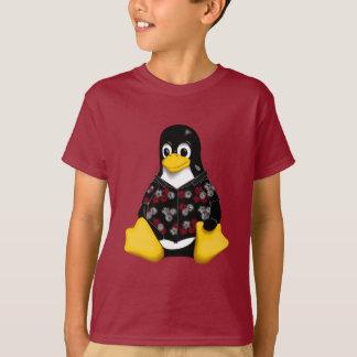 Casual Tux Hawaiian Kids Tagless Jersey T-Shirt