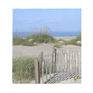 Caswell Beach, NC Land and Seascape Notepad
