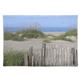 Caswell Beach, NC Land and Seascape Placemat