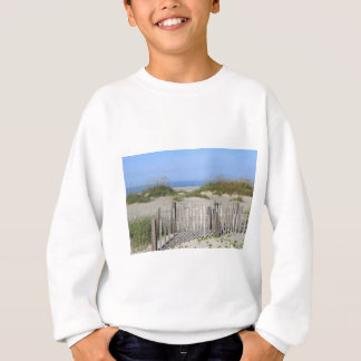 Caswell Beach, NC Land and Seascape Sweatshirt
