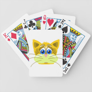 cat-1625949 bicycle playing cards