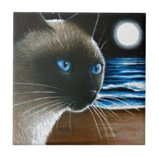 Cat 396 Siamese Tile