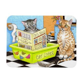 Cat 464 funny Flexi Magnet