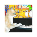 cat 506 stretched canvas prints