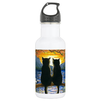 Cat 582 black cats 532 ml water bottle