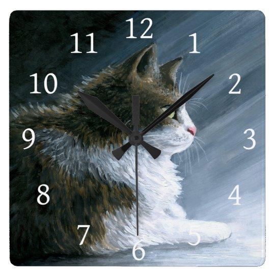 Cat 594 wall clocks