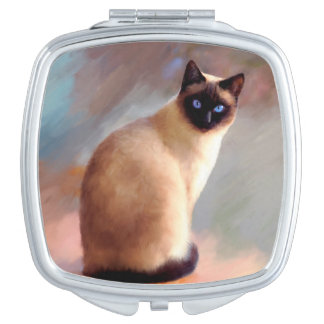 Cat 613 Siamese Makeup Mirror