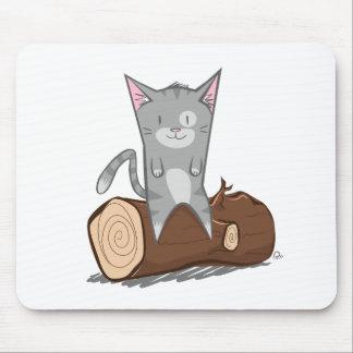 Cat a log - Mouse Mat Mouse Pad