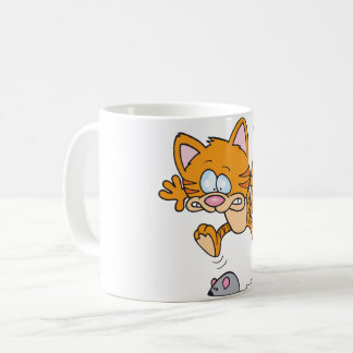 Cat And A Mouse Mug
