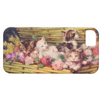 Cat and bouquet iPhone 5 cover