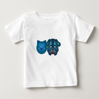 Cat and Dog Baby Shirts