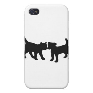 cat and dog iPhone 4 cover
