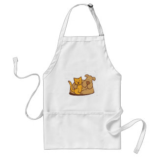 Cat and Dog Standard Apron