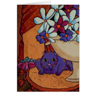 Cat and Figs Card