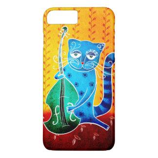 Cat and jazz iPhone 7 plus case