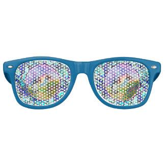 Cat and Monarch Winged Trim Adult Retro Sunglasses
