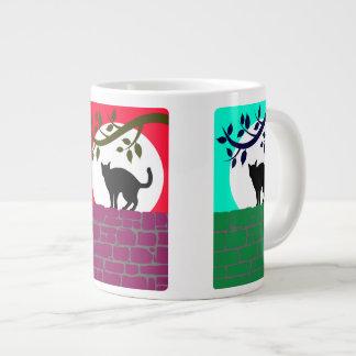 Cat and Moon Specialty Mug