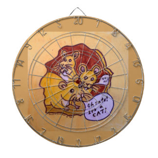 Cat and Mouse Dartboard