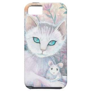 Cat and Mouse Fantasy Art by Molly Harrison iPhone 5 Case
