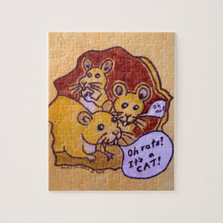 Cat and Mouse Jigsaw Puzzle