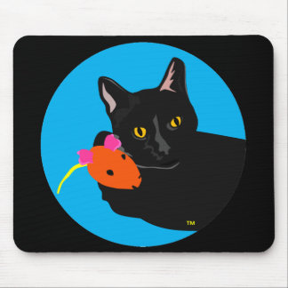 Cat and Mouse Pad