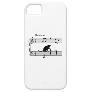 cat_and_note_ver2 iPhone 5 case