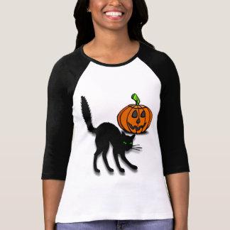 Cat and Pumpkin Tshirts