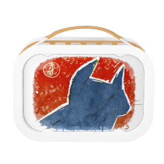 cat and the moon lunchbox