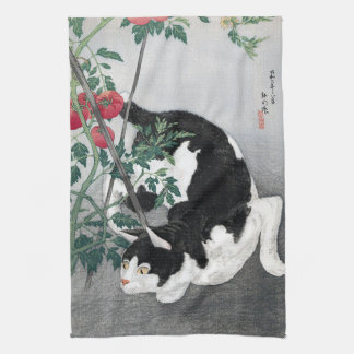 Cat and Tomato, Takahashi Shôtei Kitchen Towel