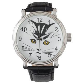 Cat Art Design Watch