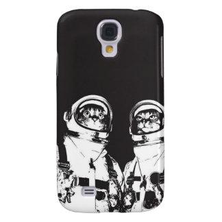 cat astronaut - black and white cat - cat memes