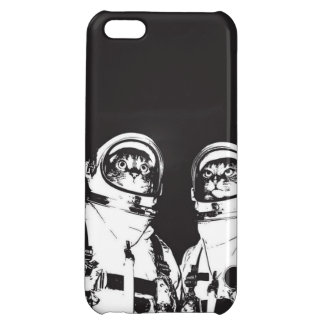 cat astronaut - black and white cat - cat memes iPhone 5C cases
