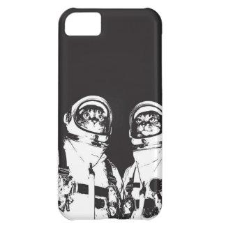 cat astronaut - black and white cat - cat memes iPhone 5C cover