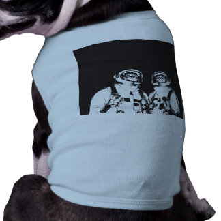 cat astronaut - black and white cat - cat memes shirt