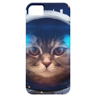 Cat astronaut - cats in space  - cat space iPhone 5 case