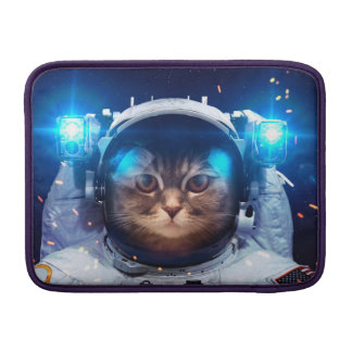 Cat astronaut - cats in space  - cat space MacBook sleeve