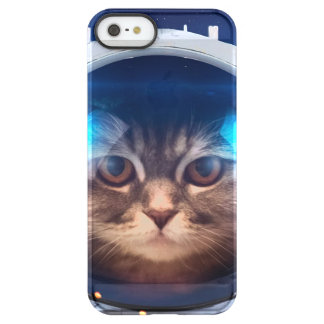 Cat astronaut - cats in space  - cat space permafrost® iPhone SE/5/5s case