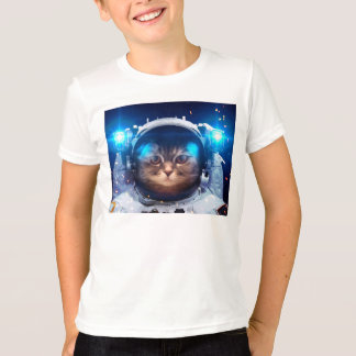Cat astronaut - cats in space  - cat space T-Shirt