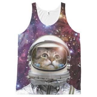 Cat astronaut - crazy cat - cat
