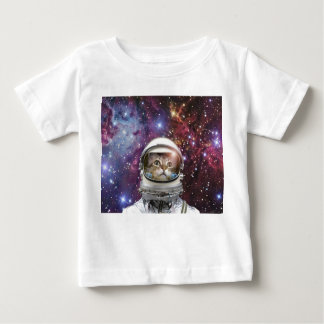 Cat astronaut - crazy cat - cat baby T-Shirt