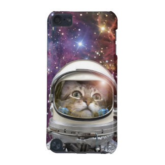 Cat astronaut - crazy cat - cat iPod touch (5th generation) cases