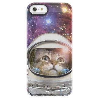 Cat astronaut - crazy cat - cat permafrost® iPhone SE/5/5s case