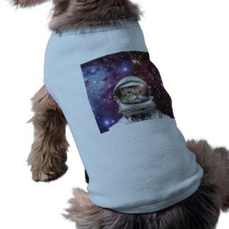 Cat astronaut - crazy cat - cat shirt