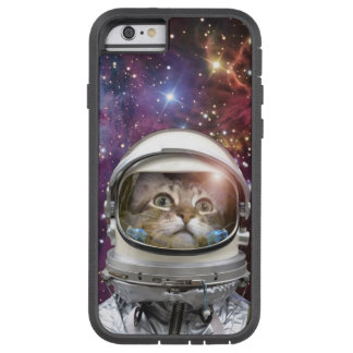 Cat astronaut - crazy cat - cat tough xtreme iPhone 6 case