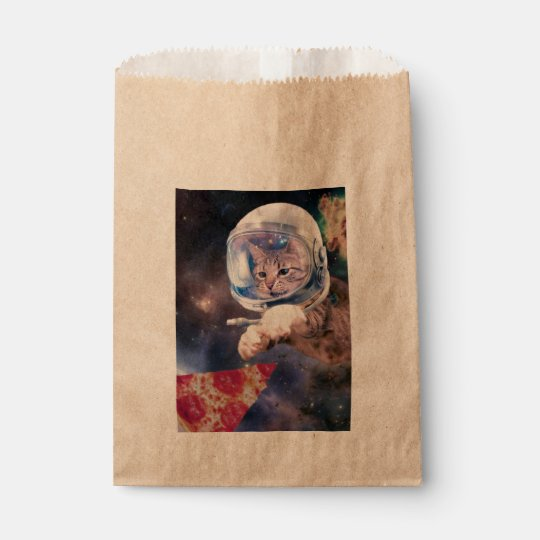 cat astronaut - funny cats - cats in space favour bag