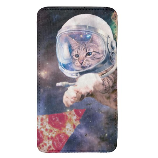cat astronaut - funny cats - cats in space galaxy s5 pouch