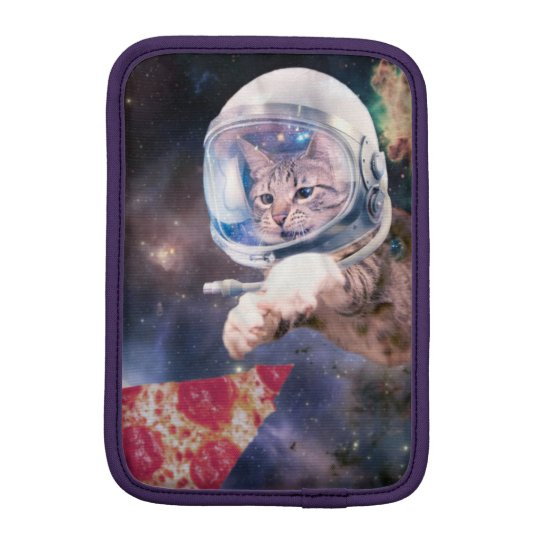 cat astronaut - funny cats - cats in space iPad mini sleeve