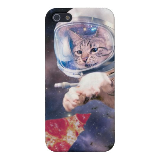 cat astronaut - funny cats - cats in space iPhone 5/5S case