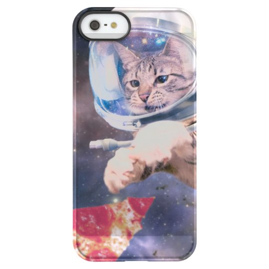 cat astronaut - funny cats - cats in space permafrost® iPhone SE/5/5s case